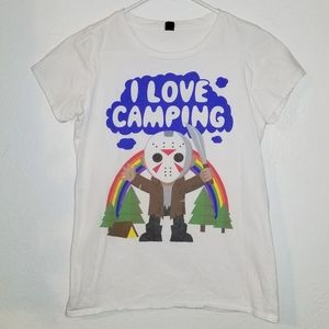 Friday The 13th | Jason | I Love Camping Tee